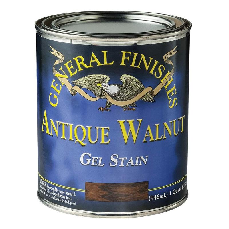 General Finishes walnutGelstain