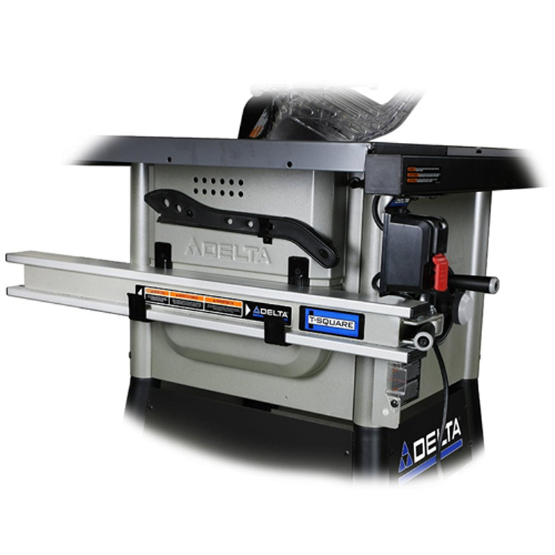 Delta power tools 36 5152 delta left tilt table saw with for 10 inch delta table saw