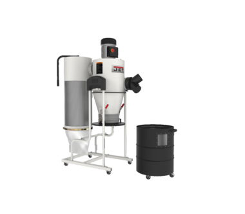 Jet 717515 Model Jcdc 1 5 Cyclone Dust Collector 1 5hp