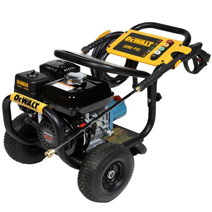DeWALT DXPW60603 Commercial Pressure Washer 3200 PSI CAT Triplex Direct  Driven Pump for Cold Water