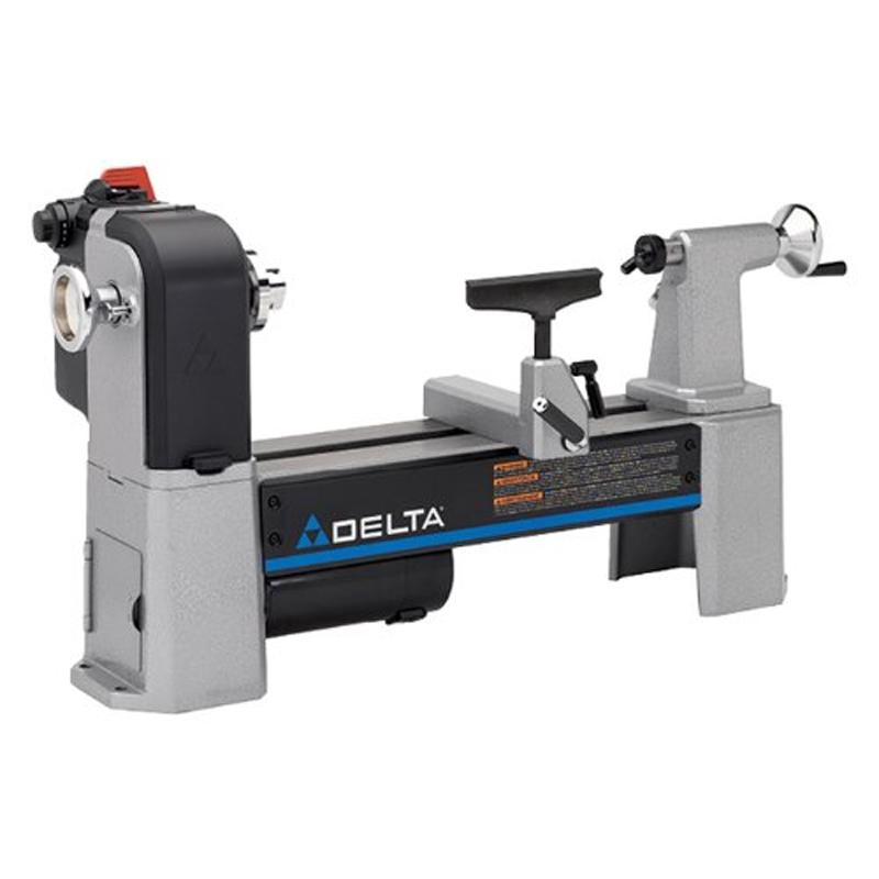 Delta Industrial 46-460 12-1/2-Inch Variable-Speed Midi Lathe