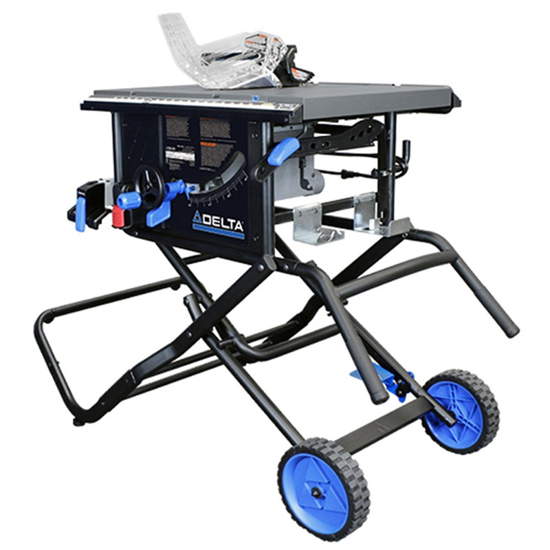 Delta Power Tools 36 6020 10 Portable Table Saw With Stand Ct Power Tools